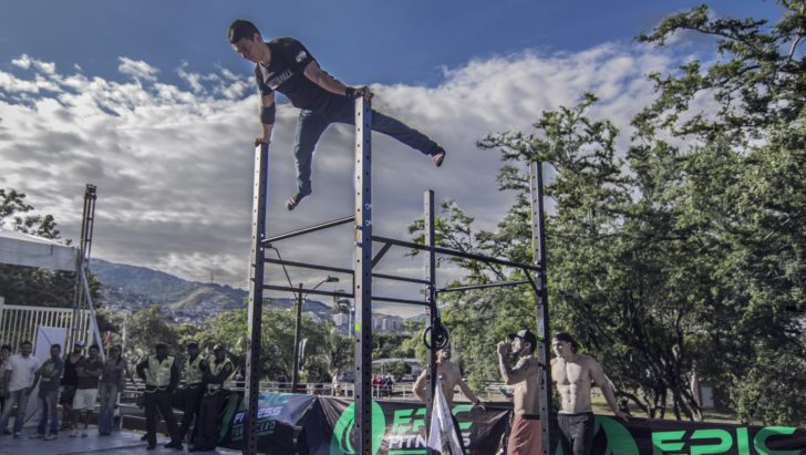 Flying Epic fitness